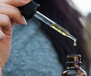 close up of medicine dropper