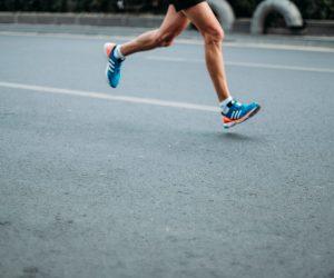 person running