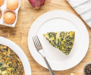 crusless quiche