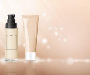 digital graphic of cosmetics