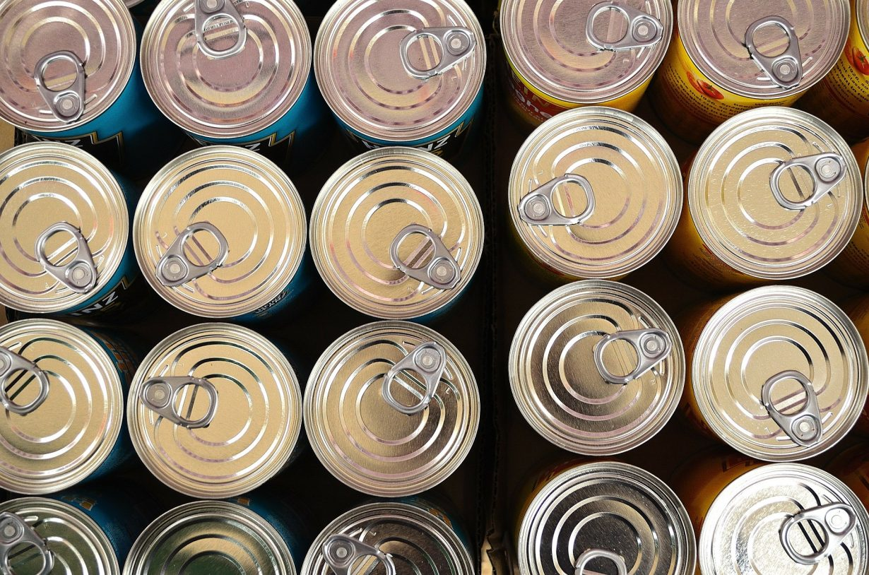 canned food lids