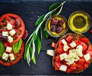 al fresca Italian meal