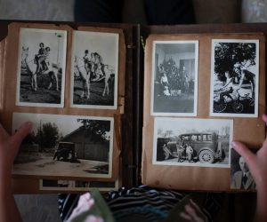memory book of old pictures