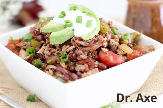 Turkey Chili with Adzuki beans