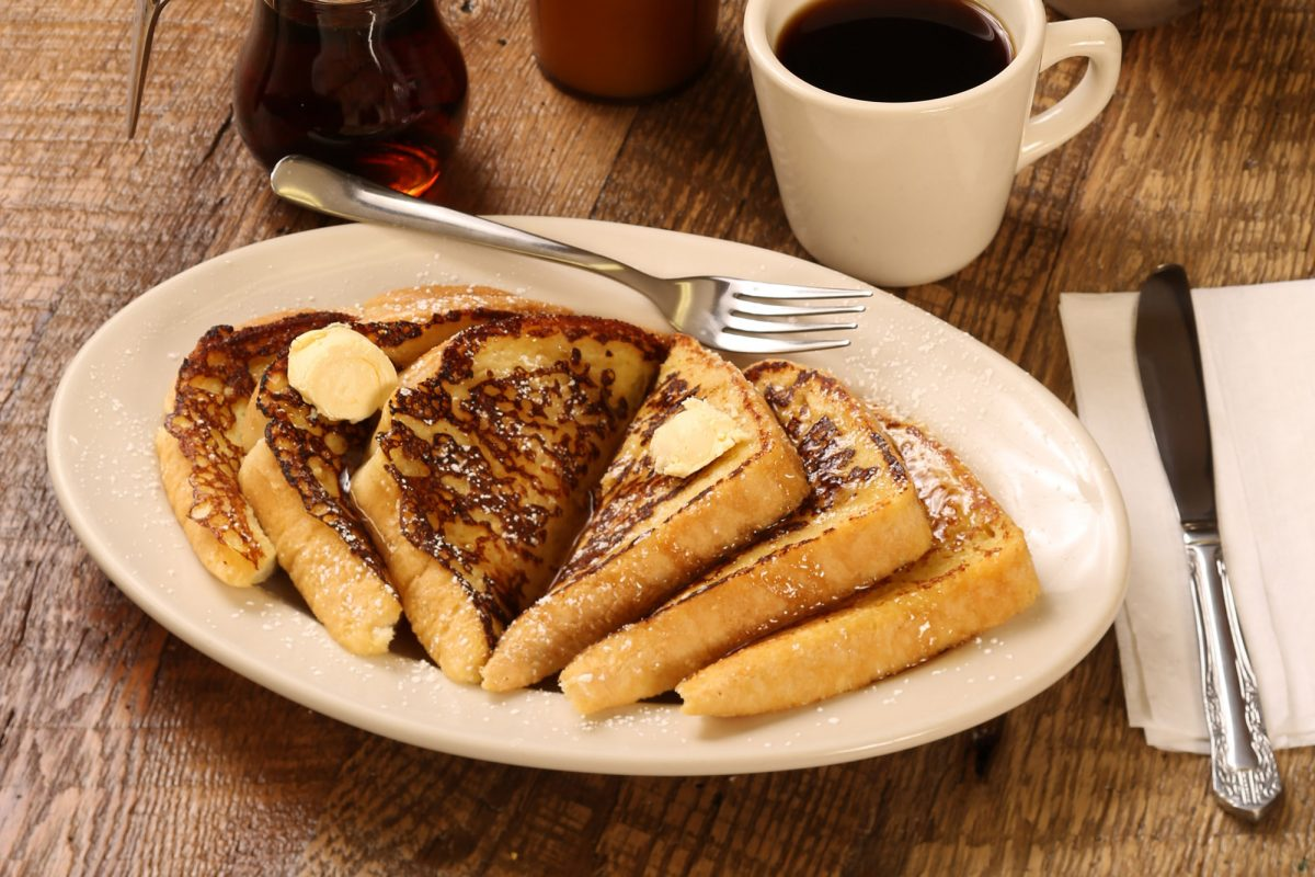 plate of french toast